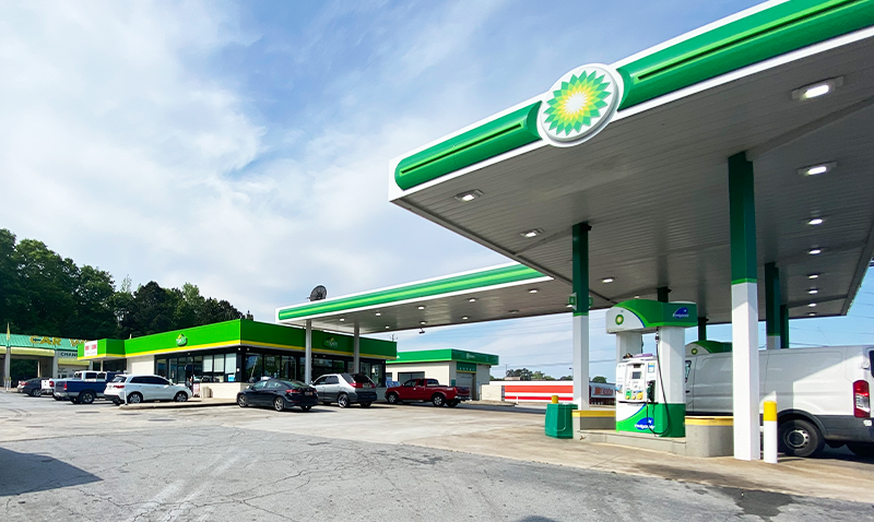 Villa Rica BP Convenience Store Morgan Oil Company
