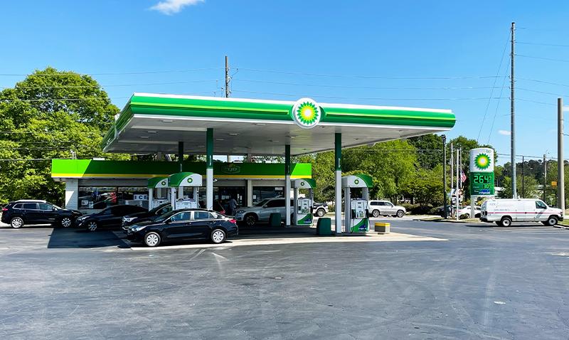 Four Lane BP Convenience Store Morgan Oil Company